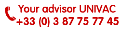 Your advisor univac +33(0)3 87 75 77 45